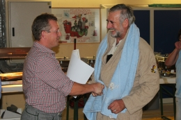 Maschinen- und Wespenmeister Rudi Aigner feiert seinen 60er.